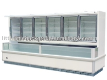 upright freezer with glass door
