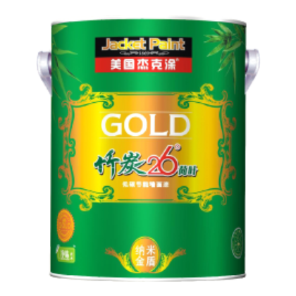 High quality waterborne gold paint design acrylic paint