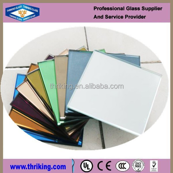 Thriking double coating tinted glass mirror for decoration
