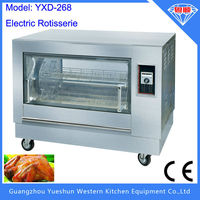 2016 polular selling electric chicken grill machine