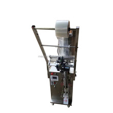 Semi-automatic vertical liquid honey pouch filling packing machine