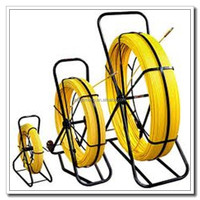 200m fiberglass duct rodders with high quality, easy handle cable laying tools cable snake conduit duct rod