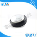 Round 60mm chrome arcade game push button led illuminated microswitch button