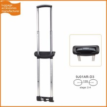 Guangzhou JingXiang Adjustable Pull Handle Accessory For Aluminum Telescoping Luggage Handle For Trolley Suitcase