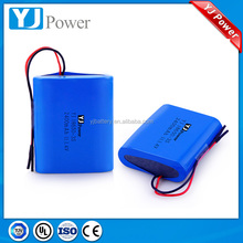 11.1v li-ion battery pack bak 18650c4 2200mah pack capacity and size can be customized