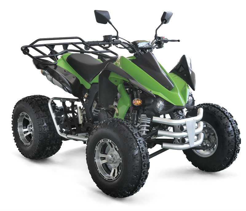 ATV QUAD BIKE 250cc off-road KAWASAKI STYLE