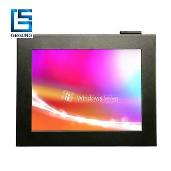 On board Intel Atom D525 10 inch lcd panel pc