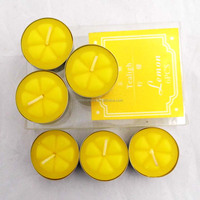 popular white paraffin wax 4 hour tea lights Allite candle