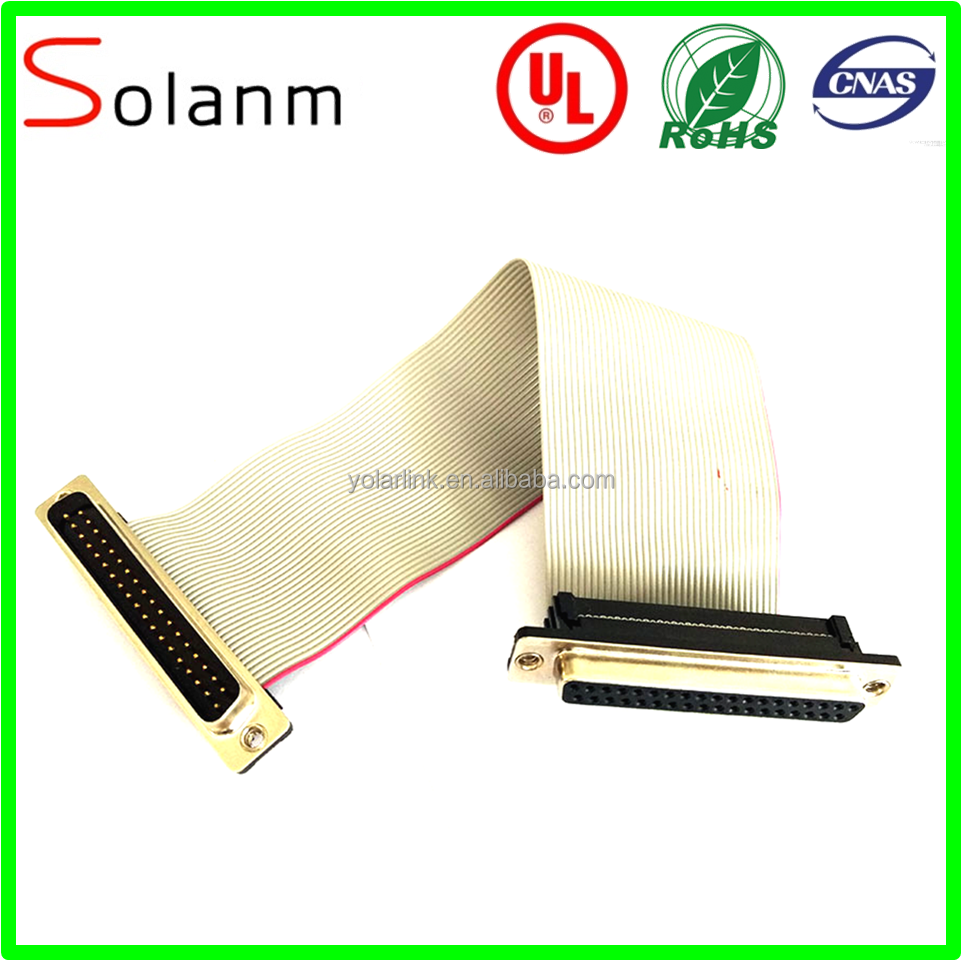 IDC DIP Flat ribbon cable wire harness customIzed cable