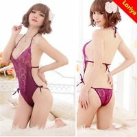 New style hot-sale sex lingerie transparent