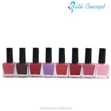 Private label OEM organic water based nail polish