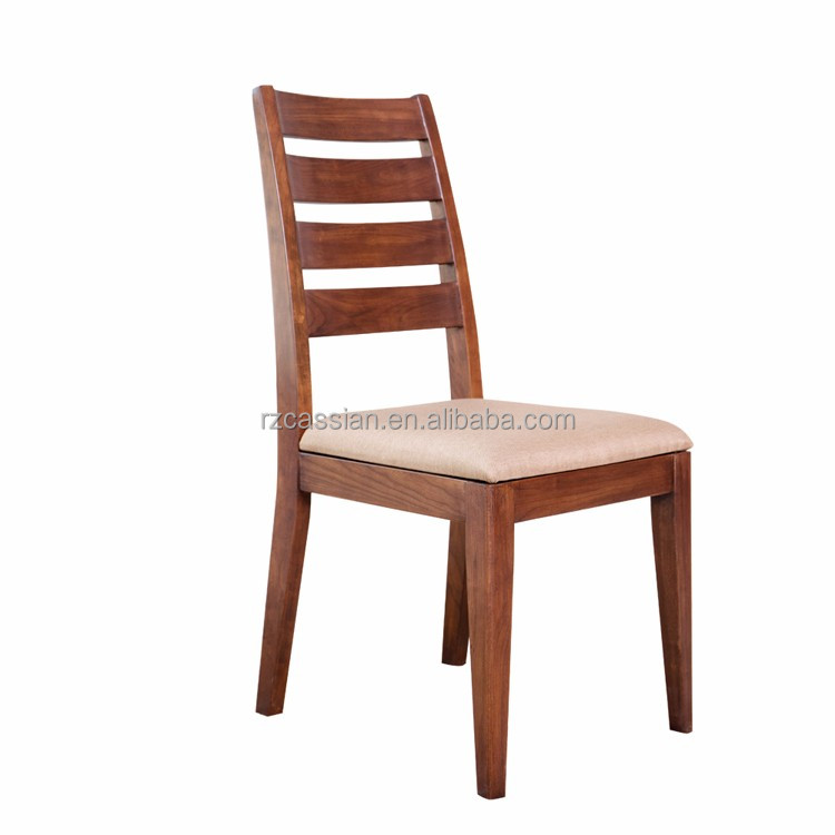 Wood dining chair dining room furniture made in china