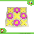 wooden colorful tic tac toe for kids