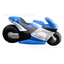 Outdoor Display Giant Inflatable motorcycle model for advertising
