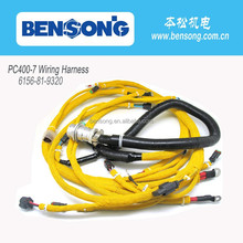 6156-81-9320 wiring harness for komatsu diesel engine PC400-7, excavator parts