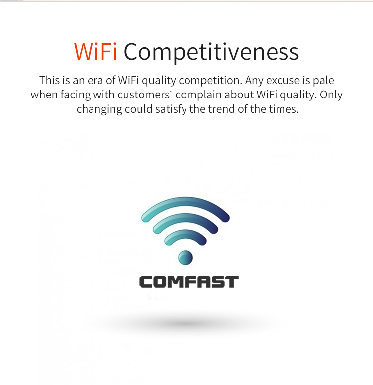 COMFAST CF-E536N Best Quality Remote Wifi Transceiver 300mbps Wireless In Wall AP