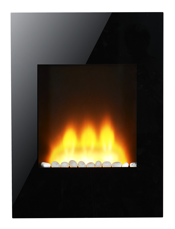 1500/750w heat settings chiminea outdoor fireplace