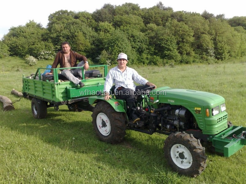 cheap 4x4 40hp Mini Tractor (Green House Tractor) in stock