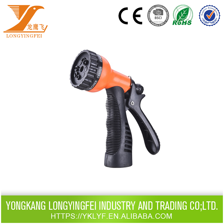 High pressure garden hose spray nozzle,garden hose nozzle sprayer