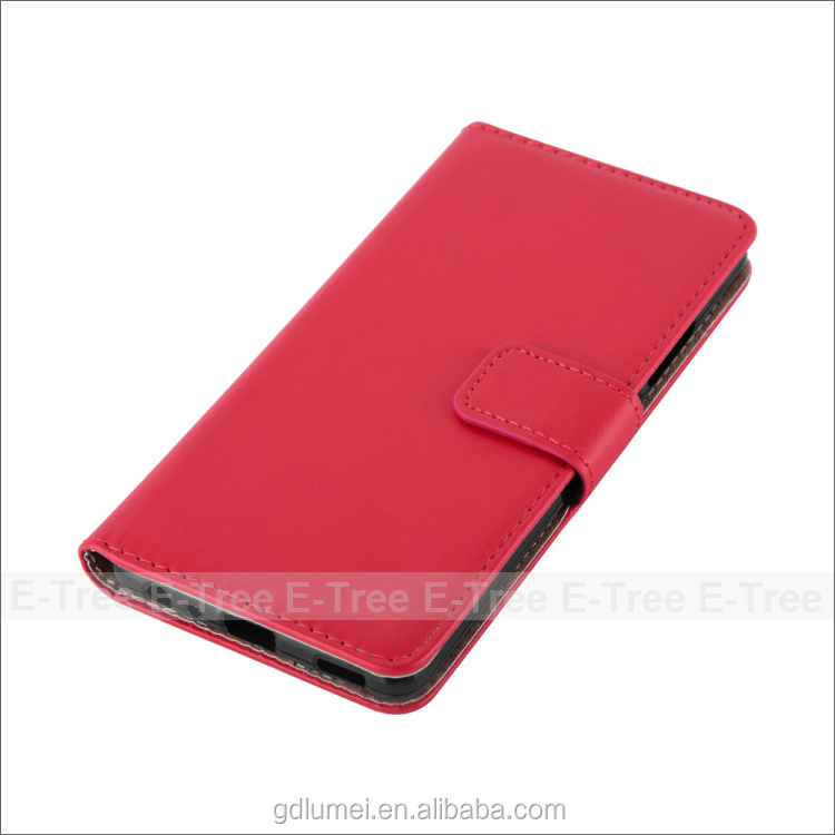 Leather Wallet Flip Back Cover Case for OPPO Neo 7, case for oppo a37