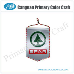 High Quality mini pennant flag football club pennant flag Custom soccer flag