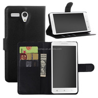 For Lenovo A616 strong magnetic Leather slot wallet Cover stand Flip Case