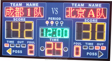Full color LED display board basketball and football