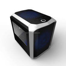 Super Modern cube gaming pc case with Really 240mm water cooling systerm