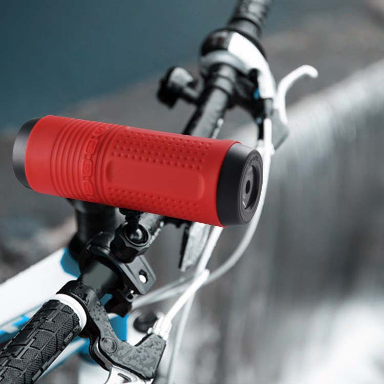 IPX7 Waterproof bicycle led torch wireless portable mini power bank speaker with usb charger