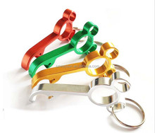 mini mickey bottle Beer Can opener keychain Key Chain bottle openers metal wedding gift key chain