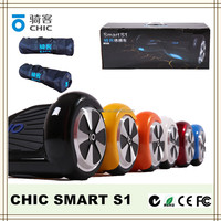 2016 new electric scooters self balancing two wheel smart balance electric scooter io chic smart s1 with CE/ROHS/FCC/C-TICK