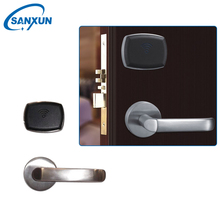 Electronic Hotel Key Rfid Card Door Lock with Key Card Entry Systems