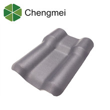 Hot sale waterproof and soundproof pvc roof tile