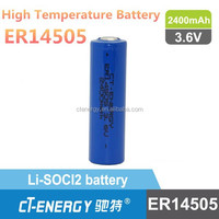 ER14505 lithium battery aa 3.6v high temperature