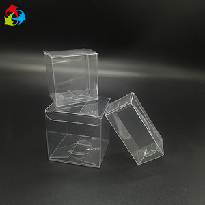 Mini Clear PET Plastic Candy Sweet Boxes
