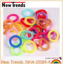 Multicolor hair rubber band, telephone wire hair band