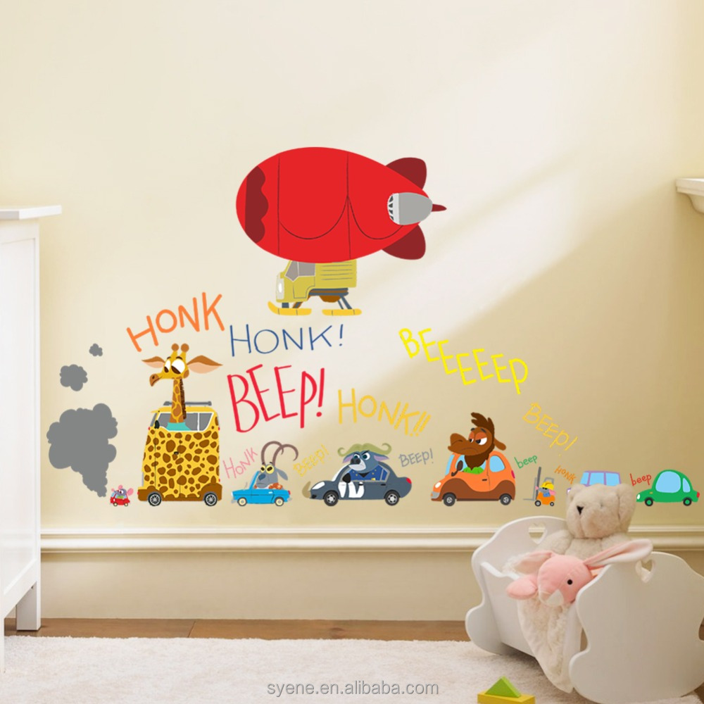 3d wall stickers home decor cute baby nursery furniture for Cute home decor