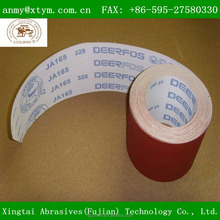 Flexible backing abrasive cloth roll Deerfos brand
