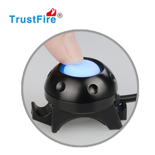 Remote Control switch bike light TrustFire D001 rechargeable bicycle lights, high Quality mini front flashlight