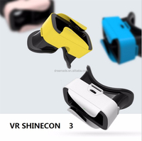 Best price simple installation vr shinecon vr glasses
