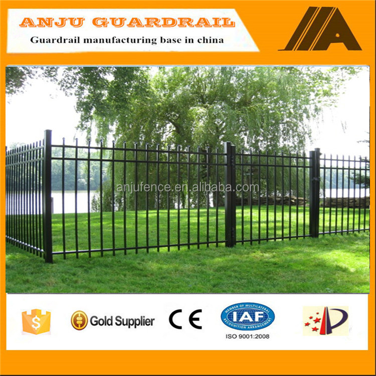 DK035 New Wrought Iron Front Gate Designs