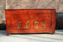 Chinese Antique Reproduction Furniture/ Handpainting cabinet