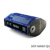 New 2017 Cool GUI 3ohm 315W IJOY MAXO QUAD 18650 TC BOX MOD e cigarette