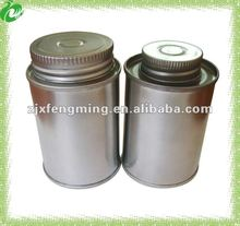 pvc glue tin can
