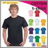 2016 NEW product custom short sleeves mens plain 100% cotton t-shirt