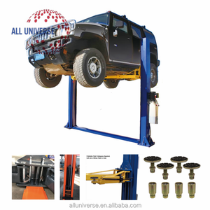 2 post hydraulic auto lift/launch car lift/two post floor-plate hydraulic hoists