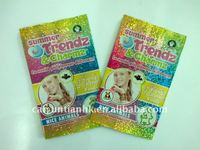 plastic foil bags,hologram toy bags,animal toy packing bags