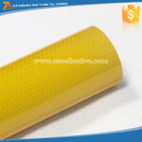 EN12899 High Intensity Grade Self Adhesive 300 Micron PVC Reflective Sheet for Traffic Signage