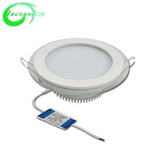 Home Decorative Office Dimmable 9W 12W 15W Panel Recessed <strong>Flat</strong> Round Square Ceiling Led Lights white day 4000k 24 watts Dimmable