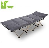Lightweight portable new outdoor products camping foldable single bed